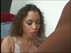 Horny Basketball Loving Latina Getting A Creampie