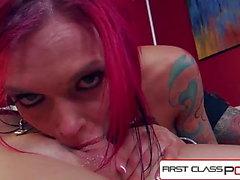 FirstClassPOV - Anna Campana Picos chupar una polla monstruo