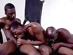 Удивительная Блэк Orgy Party