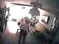 Homeclips - Spycam - Babysitter Fångad onanerar