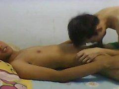 милое индонезийская парня