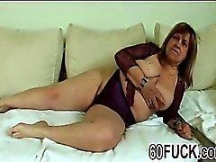 Bbw Loiro Granny fodendo Sucking Young Dong