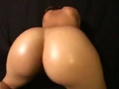 Grande Nudo Ass Bouncing Dance di Nordic-occidentale Biondo Dame