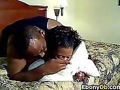 Black Whore In A Threesome