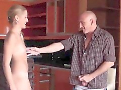 Casting stunner walks off after hardcore sex and anal hole s