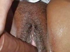 Mature pussy wet dildo masturbation