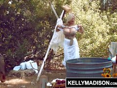KELLY MADISON Horsin Around