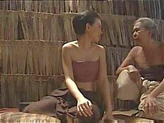 Scènes uit de film House Gory 4 met enkele huid en seks