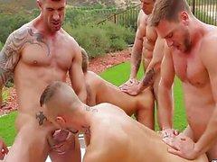 Homosexuell Outdoor Group Geschlechts