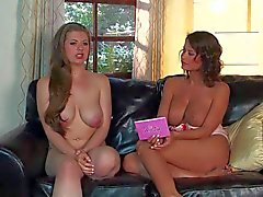 Emily Addison gets naked durng interview