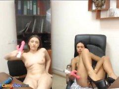 Layla Rose Hot buceta masturbação com alguns brinquedos 8