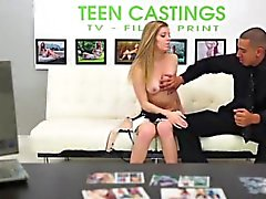 Shy model at xxx casting