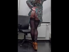 My lovely sexy secretaries body-3)