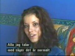 Angel Dark prima volta il scena di sesso telecamera