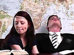Handjob publiques de mormons couple amateur