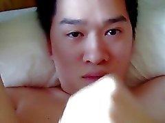 asiatische Twink Selbst Gesicht 2