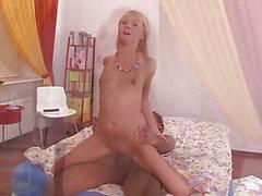 Söpö Venäjän teini ja Big Black Cock BBC