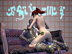En 3D Porno Mation Monstruos Joder Zuma Recortada 04 -