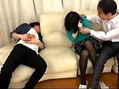 AXBC - 004 Hitomi Фудживара Лицо своей жены Кто не знает