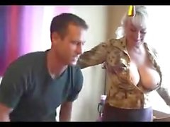 Anal for mom with big tits