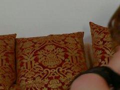 Schönen großen Titten brünett Emily Addisons und ihre Spielzeug