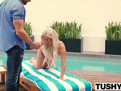TUSHY Tasha Reign Gapes With A BIg Cock In Her Ass