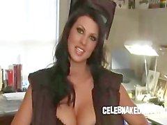 Celeb de alicia de Goodwin grandes tetas desnudos en la ropa interior sesión de glamour