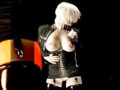 Menina striptease