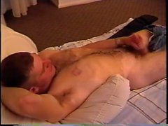 Hunky and hairy marine solo