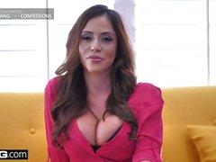 BANG Confessions - Cheating Frau Ariella Ferrara fickt den Pool Kerl