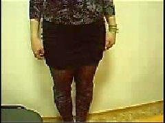 Galina Kryuk ucraniano muestra su cuerpo en la webcam