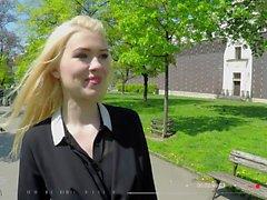 BITCHES ABROAD - Polish tourist babe Misha Cross fucked POV