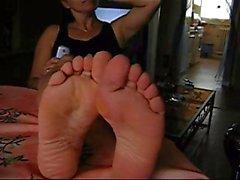 Feet off my wife 1