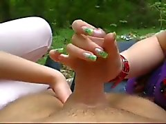 Fun with two amateurs girls