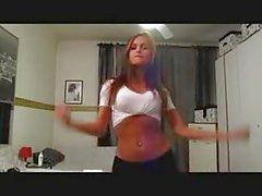 CUKEGIRL Simply Perfect Shemale Patricia Araujo Dancing