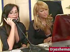 Naughty Sexy Trannies Fucking With A Guy