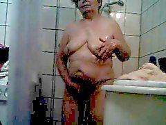 een douche nemen