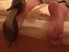 Unelias Jalka fetissi & Makuupussit Nainen ( Kengän sekä paljaille jaloille ) 101
