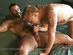 Two hung jocks 69 and fuck hard
