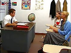Aunt Watches As Teacher Fucks Pigtailed Redhead Teen