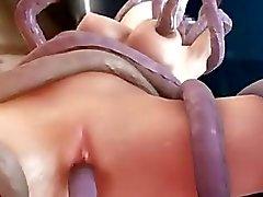 Hentai 3D - Tentacles SO HOT