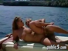Doing Lots Of Fucking Outside On A Boat