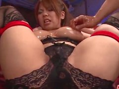 Busty Kanna Itou ama posare quando succhia e cazzo