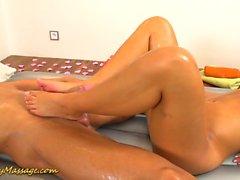 flexi slippery nuru massage gymnastic