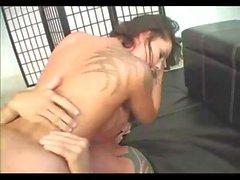 Chayse Evans Bester Fick mit Bodybuilder