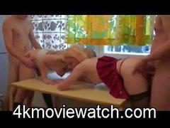 Knull Två flickor mycket trevlig