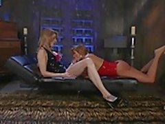 TS Casey Kisses Dominates Latin Slut Mercedes Carrera