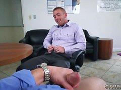 Straight teen boy wear thong gay Keeping The Boss Happy