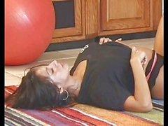 Bianca Cardinelle a sexy che si estende