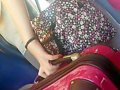 ragazze sui in treno